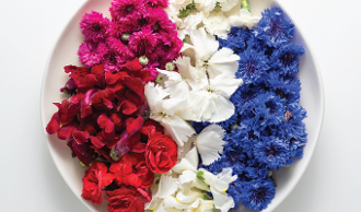 Flower Premium Red, White, & Blue Mix